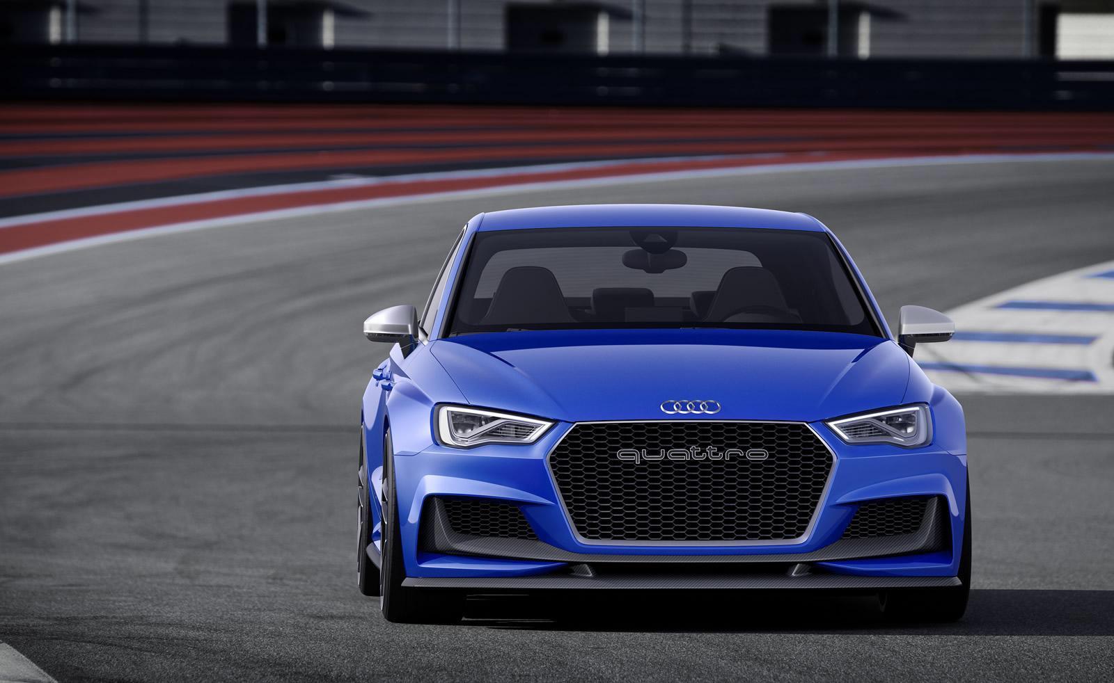 Audi Rs3 2015 I Primi Render Basati Sul Concept A3
