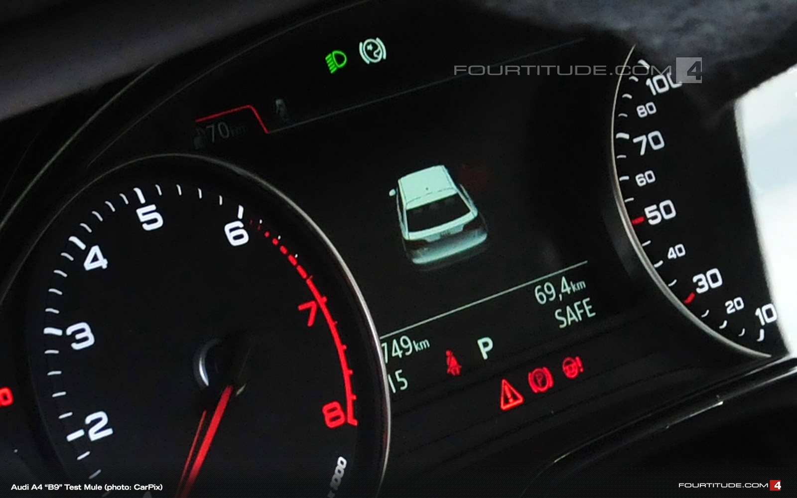 Nuova Audi A4 2016 Avvistati I Nuovi Interni Audicafe It