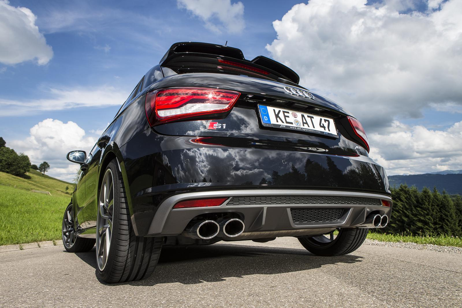 Audi S1 Sportback Abt La Rende Mostruosa Con 310 Cv